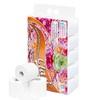 Giấy vệ sinh Clasi hoa hồng 4 lớp (15 cuộn/2kg/xách)
