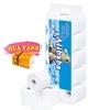 Giấy vệ sinh Alibaba gấu xanh 4 lớp (10cuộn/1.9kg/ xách)