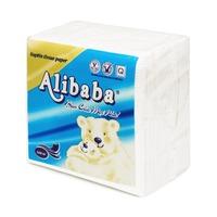 Giấy napkin gấu xanh 330x330mm (100 tờ/gói)