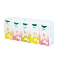 Giấy bỏ túi hoa ly 3 lớp (10 tờ/gói,10 gói/cây)