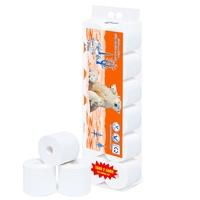 Giấy vệ sinh Alibaba gấu cam 4 lớp (12cuộn/1.7kg/ xách)