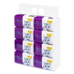 Giấy rút con mèo MyLan 3 lớp (465 tờ/gói, 8 gói/xách)